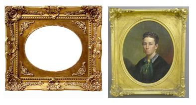 Antique And Reproduction Picture Frames Quick Identification Tips